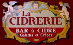 Crêperie la cidrerie Honfleur Logo